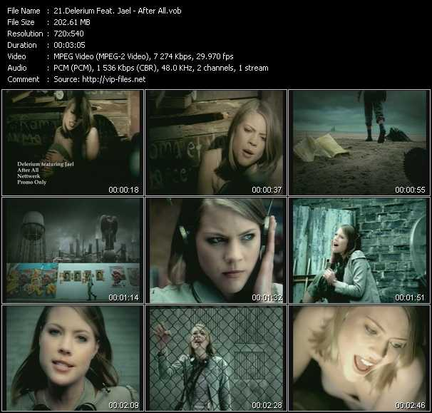 Delerium Feat. Jael video screenshot