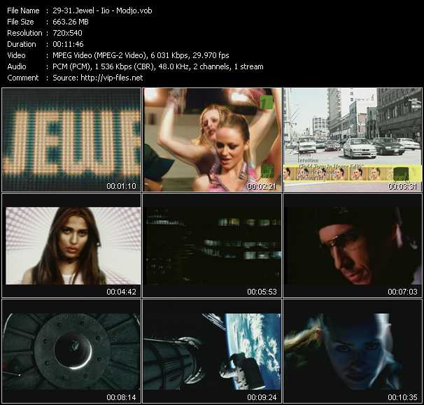 Jewel - Iio - Modjo video screenshot