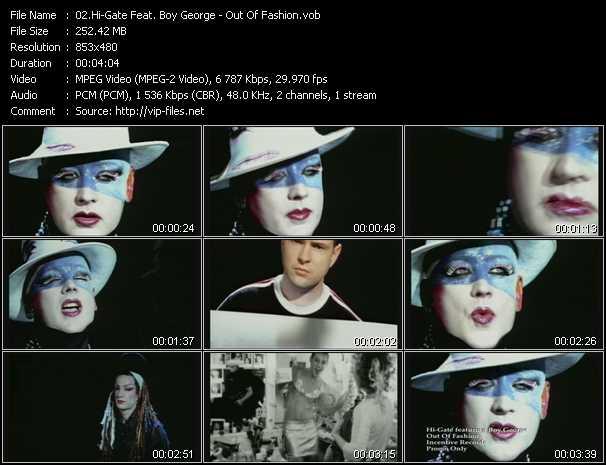 Hi-Gate Feat. Boy George video screenshot
