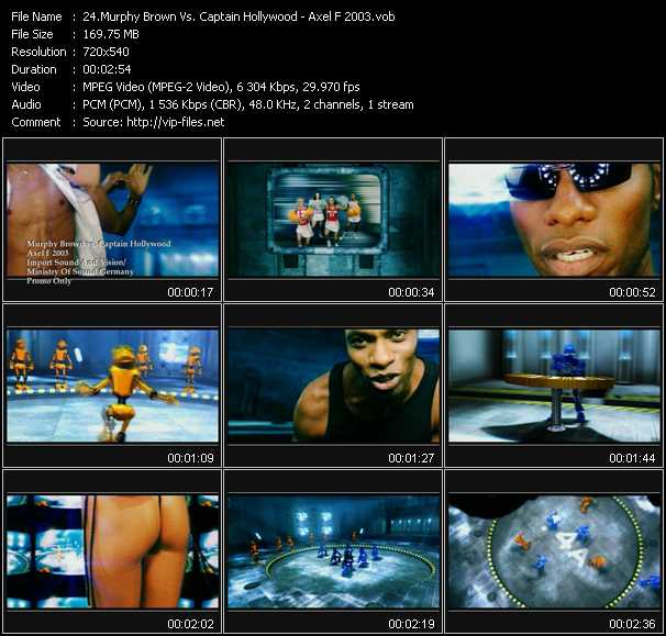 Murphy Brown Vs. Captain Hollywood video screenshot
