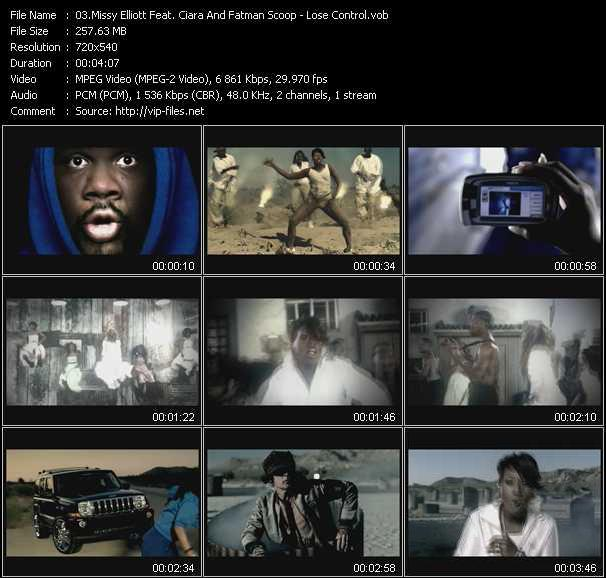 Missy Elliott Feat. Ciara And Fatman Scoop video screenshot