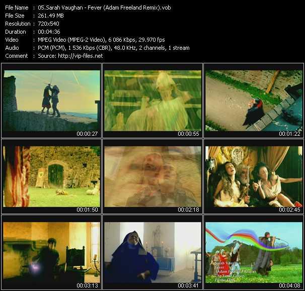Sarah Vaughan video screenshot