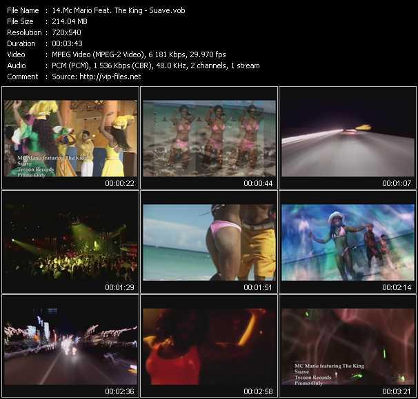 Mc Mario Feat. The King video screenshot