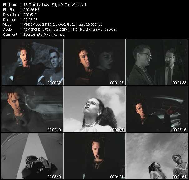 Cruxshadows video screenshot