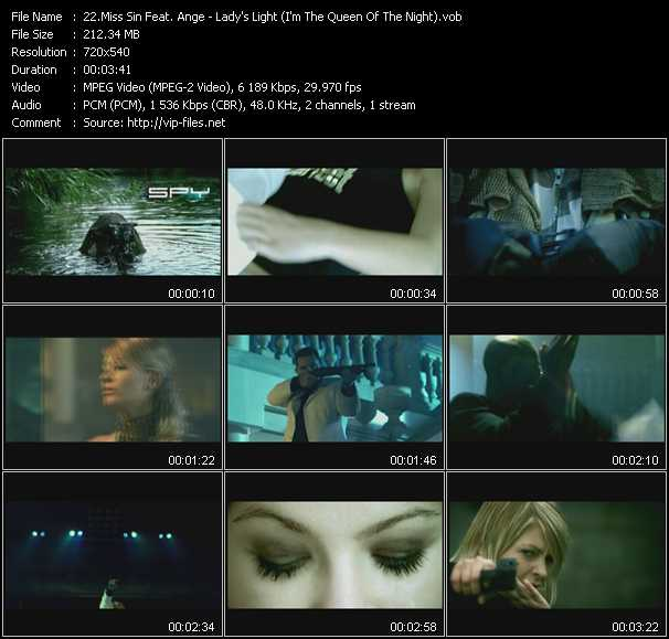 Miss Sin Feat. Ange video screenshot