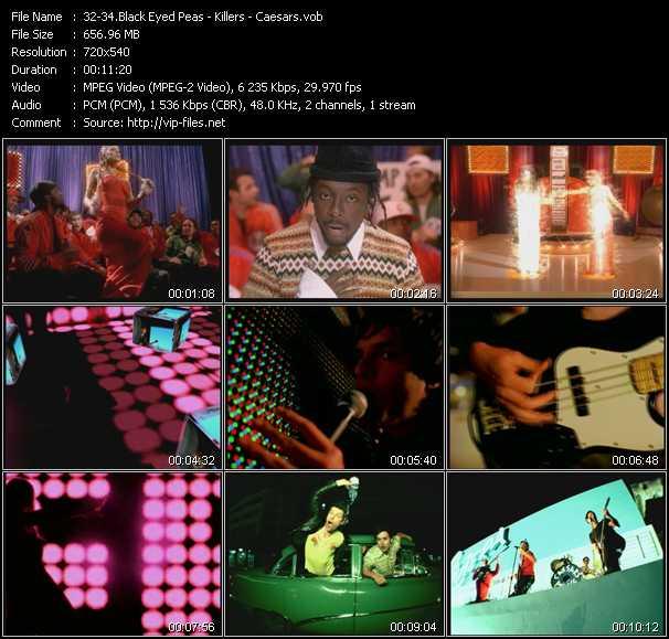 Black Eyed Peas - Killers - Caesars video screenshot