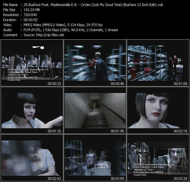 Busface Feat. Mademoiselle E.B. video screenshot