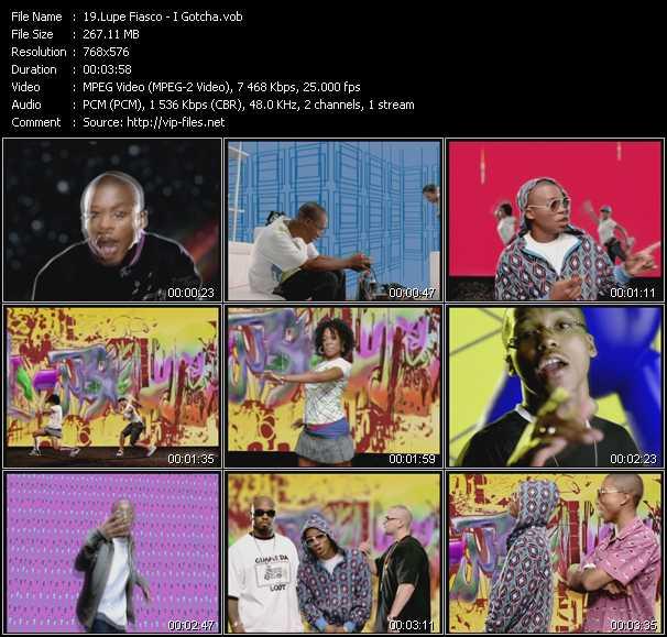 Lupe Fiasco video screenshot