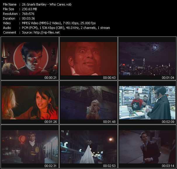 Gnarls Barkley video screenshot