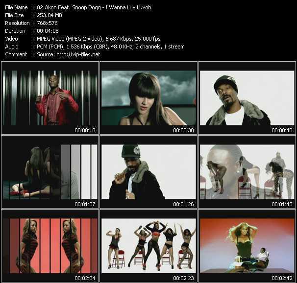 video I Wanna Luv U screen