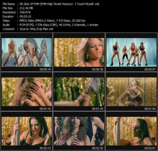 Girls Of FHM (FHM High Street Honeys) video screenshot