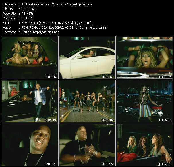 Danity Kane Feat. Yung Joc video screenshot
