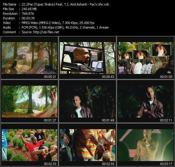 2Pac (Tupac Shakur) Feat. T.I. And Ashanti video screenshot