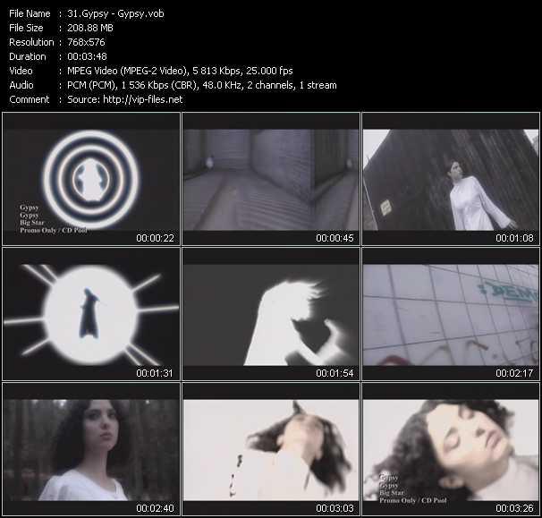 Gypsy video screenshot
