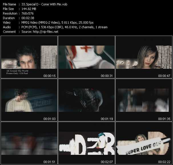 Special D video screenshot