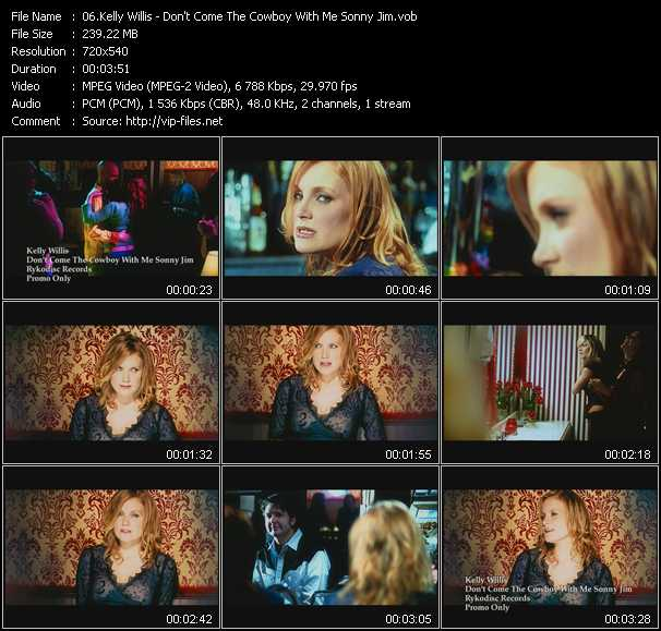 Kelly Willis video screenshot