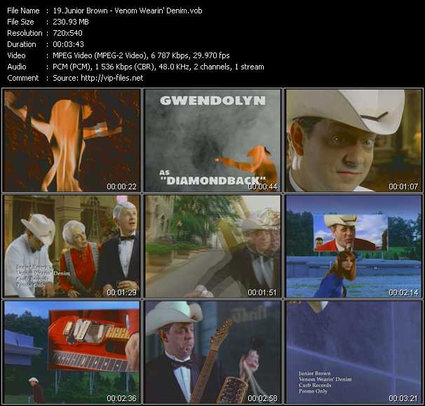 Junior Brown video screenshot