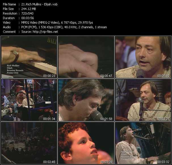 Rich Mullins video screenshot