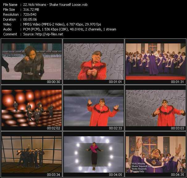 Vicki Winans video screenshot