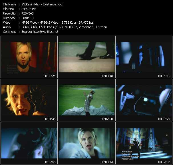 Kevin Max video screenshot