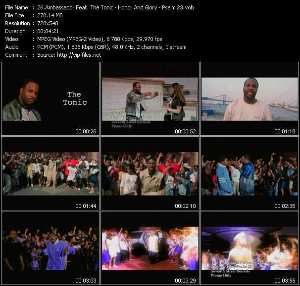 Ambassador Feat. The Tonic video screenshot