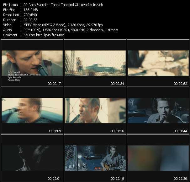 Jace Everett video screenshot