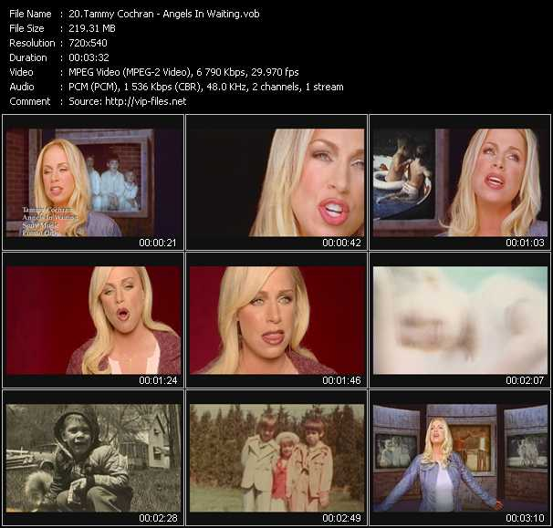 Tammy Cochran video screenshot