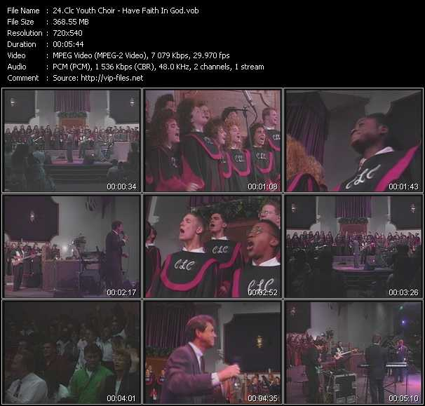 Clc Youth Choir video screenshot