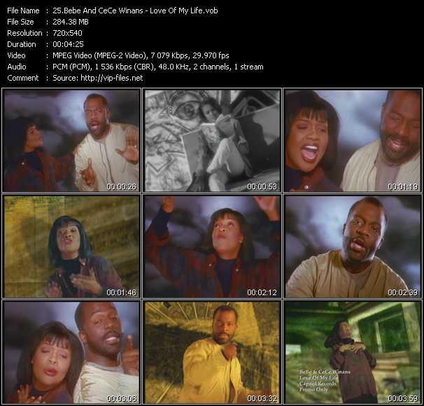 BeBe And CeCe Winans video screenshot
