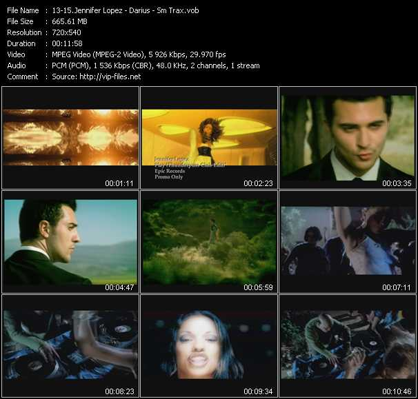 Jennifer Lopez - Darius - Sm Trax video screenshot