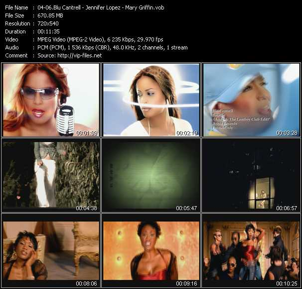 Blu Cantrell - Jennifer Lopez - Mary Griffin video screenshot