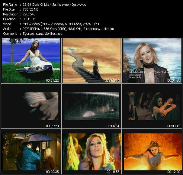 Dixie Chicks - Jan Wayne - Jessy video screenshot