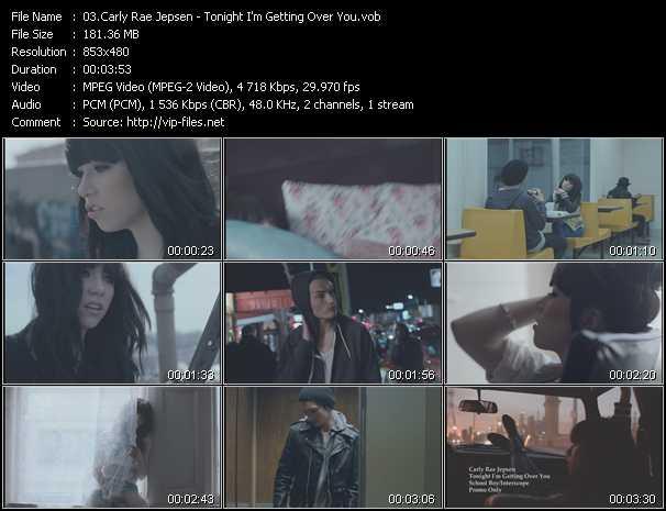Carly Rae Jepsen video screenshot
