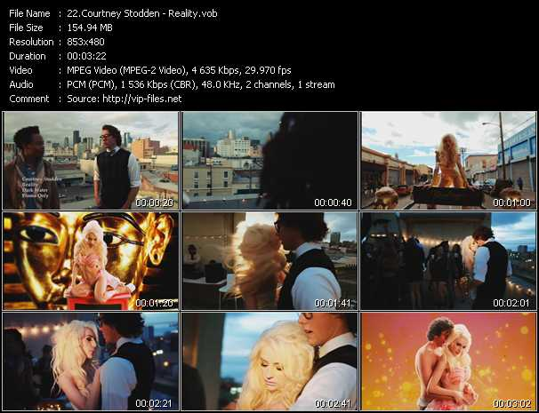 Courtney Stodden video screenshot