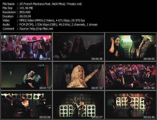 French Montana Feat. Nicki Minaj video screenshot
