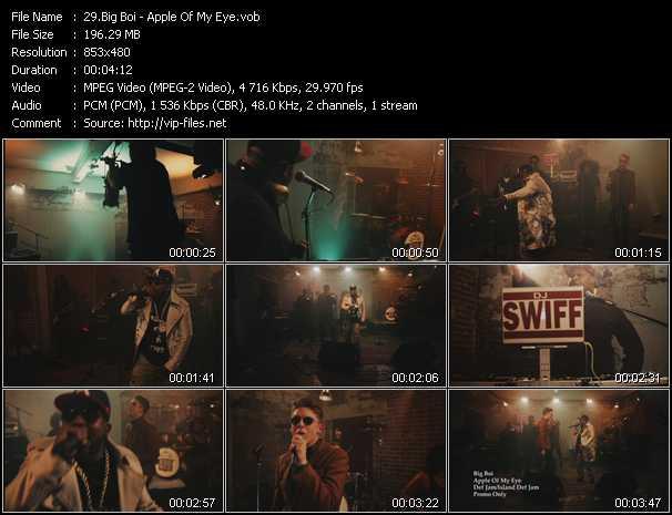 Big Boi video screenshot
