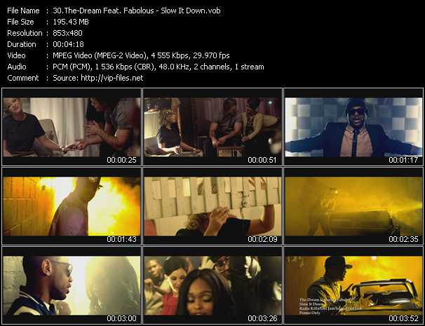 The-Dream Feat. Fabolous video screenshot