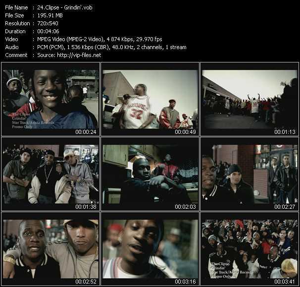 Clipse video screenshot