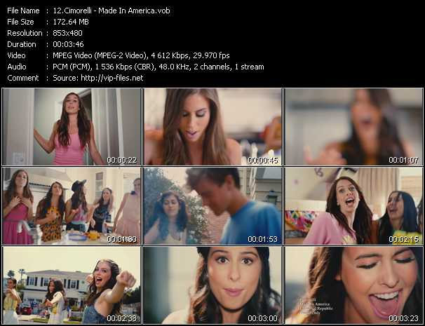 Cimorelli video screenshot