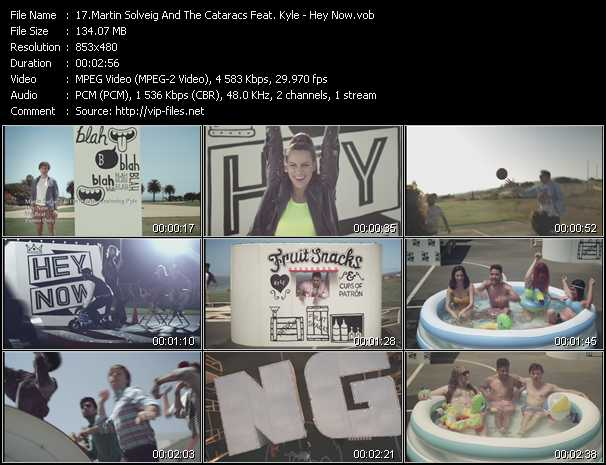 Martin Solveig And The Cataracs Feat. Kyle video screenshot