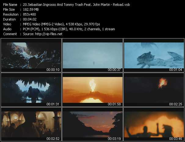 Sebastian Ingrosso And Tommy Trash Feat. John Martin video screenshot