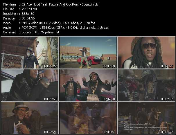 Ace Hood Feat. Future And Rick Ross video screenshot