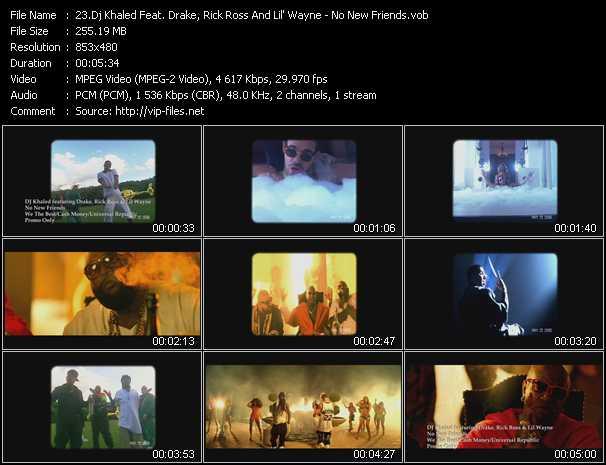 Dj Khaled Feat. Drake, Rick Ross And Lil' Wayne video screenshot
