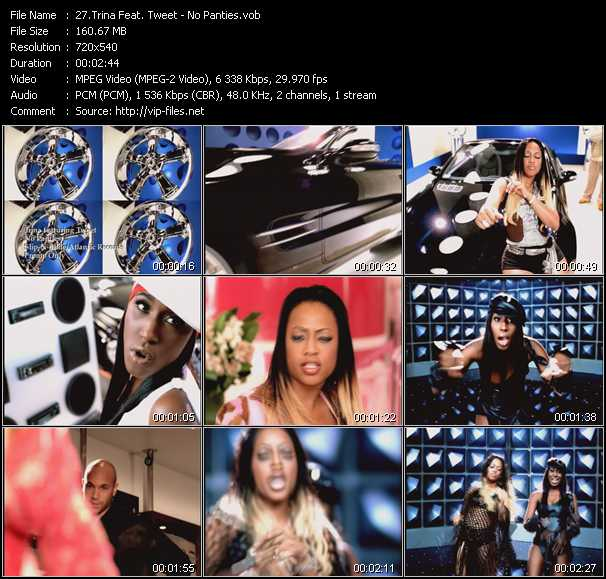Trina Feat. Tweet video screenshot