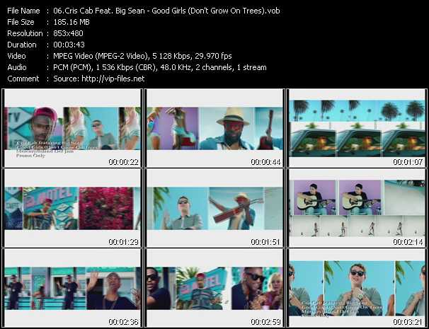Cris Cab Feat. Big Sean video screenshot