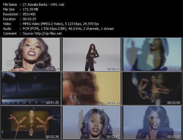 Azealia Banks video screenshot