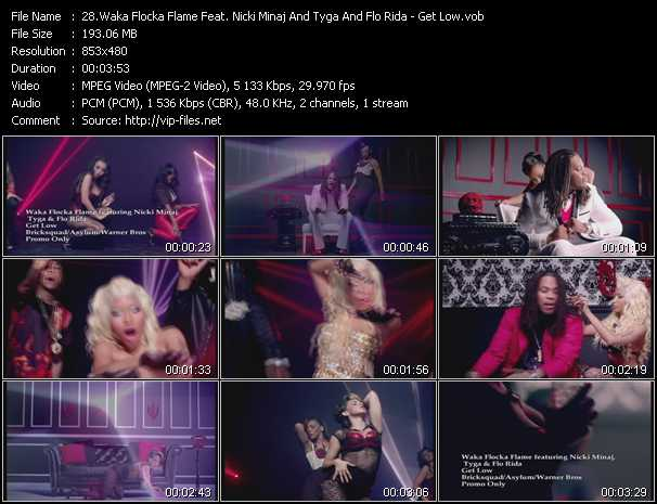 Waka Flocka Flame Feat. Nicki Minaj And Tyga And Flo Rida video screenshot