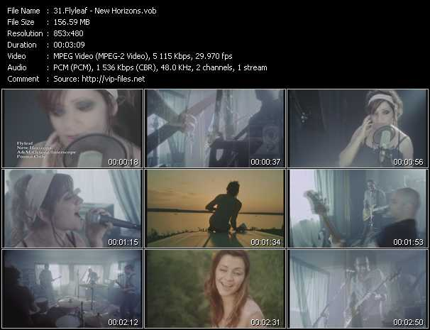 Flyleaf video screenshot