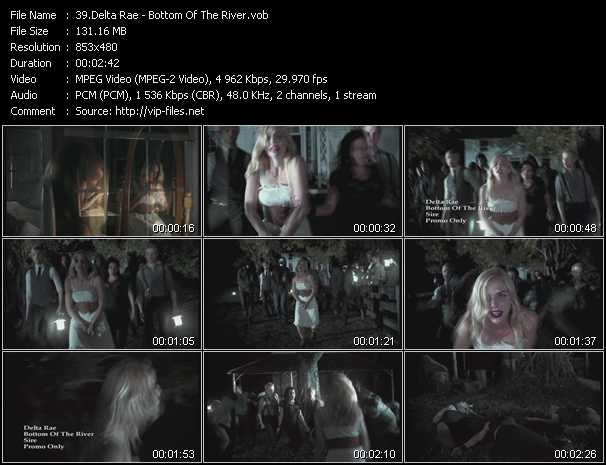 Delta Rae video screenshot