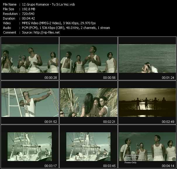 Grupo Romance video screenshot